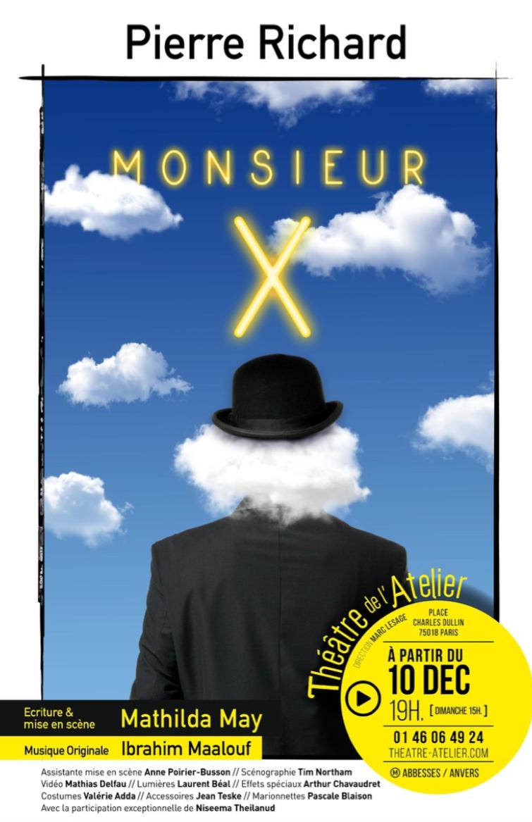Affiche Monsieur X